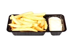 Foto Friet mayonaise groot